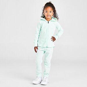 Nike Girls' Toddler Velour Full-Zip Hoodie and Jogger Pants Set in Blue Size 2 Toddler