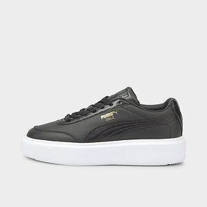 Puma Women's Oslo Maja Casual Shoes in Black/ Black Size 11.0 Leather