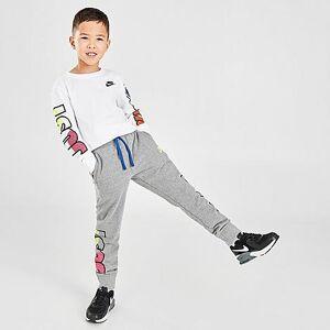 Nike Boys' Little Kids' JDI Fly 90s Jogger Pants in Grey Size 5 Cotton/Jersey