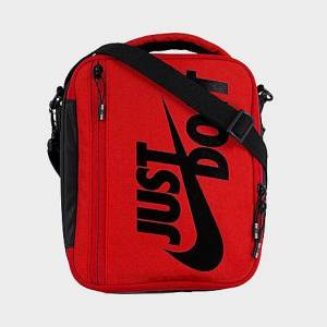 Nike Sportswear JDI Swoosh Expand Fuel Pack Lunch Bag in Red Polyester