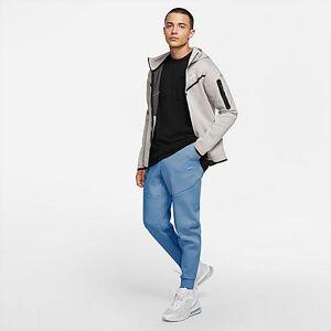 Nike Men's Tech Fleece Taped Jogger Pants in Blue Size Large Cotton/Polyester/Fleece