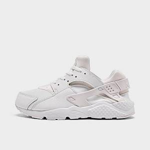 Nike Boys' Little Kids' Huarache Run Casual Shoes in White Size 3.0