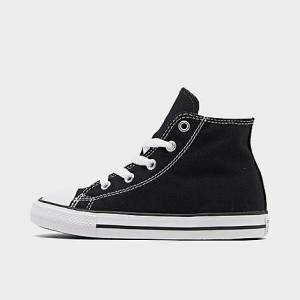 Converse Kids' Toddler Chuck Taylor Hi Casual Shoes in Black Size 8.0 Canvas