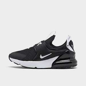 Nike Little Kids' Air Max 270 Extreme Casual Shoes in Black Size 12.0