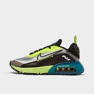 Nike Big Kids' Air Max 2090 Casual Shoes in Yellow/Black/White Size 5.5