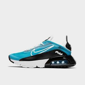 Nike Big Kids' Air Max 2090 Casual Shoes in Blue/Laser Blue Size 4.5