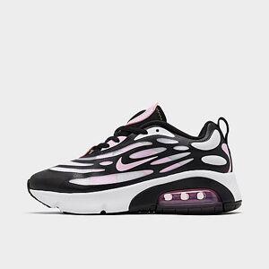 Nike Girls' Big Kids' Air Max Exosense Casual Shoes in Black Size 6.0