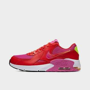 Nike Big Kids' Air Max Excee SE1 Casual Shoes in Red Size 6.0