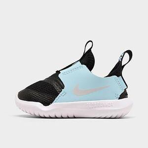 Nike Kids' Toddler Flex Runner Slip-On Running Shoes in Blue Size 9.0 Leather