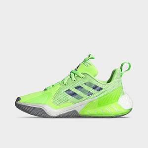 Adidas Big Kids' 4uture One Running Shoes in Green Size 6.0