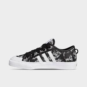 Adidas Boys' Big Kids' Originals Nizza x Disney Sport Goofy Casual Shoes in Black Size 5.5 Canvas