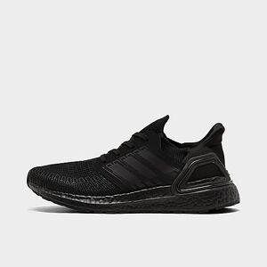 Adidas Boys' Big Kids' UltraBOOST 20 Running Shoes in Black/Black Size 4.5 Knit
