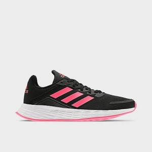 Adidas Girls' Big Kids' Duramo SL Running Shoes in Black Size 4.5
