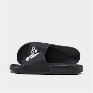 Adidas Men's Adilette Shower Slide Sandals in Black Size 9.0