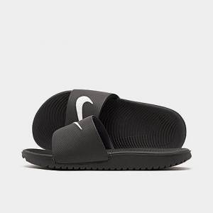 Nike Boys' Big Kids' Kawa Slide Sandals in Black Size 4.0