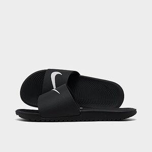 Nike Boys' Big Kids' Kawa Slide Sandals in Black Size 5.0