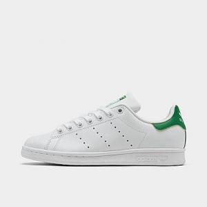 Adidas Women's Originals Stan Smith Casual Shoes in White/Footwear White Size 11.0 Leather