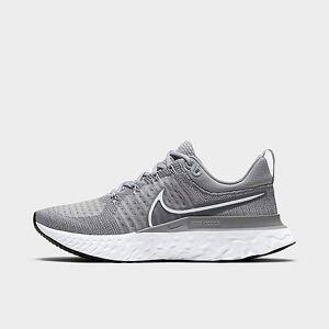 Nike Women's React Infinity Run Flyknit 2 Running Shoes in Grey/Particle Grey Size 9.5