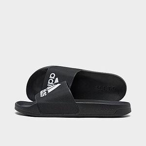 Adidas Men's Adilette Shower Slide Sandals in Black Size 12.0