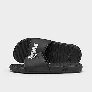 Puma Men's Cool Cat Slide Sandals in Black Size 8.0