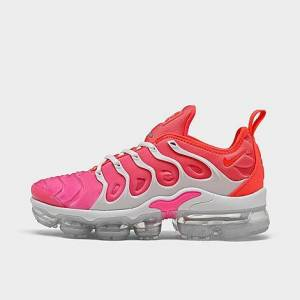 Nike Women's Air VaporMax Plus SE Running Shoes in Pink Size 7.5 Leather/Suede