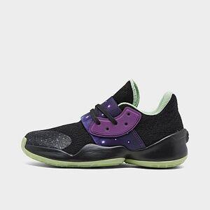 Adidas Boys' Little Kids' Harden Vol. 4 Basketball Shoes in Black Size 13.0