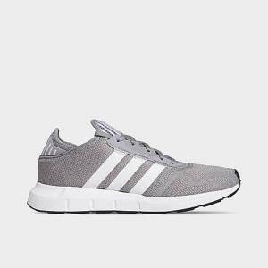 Adidas Men's Originals Swift Run X Casual Shoes in Grey/Grey Size 9.0