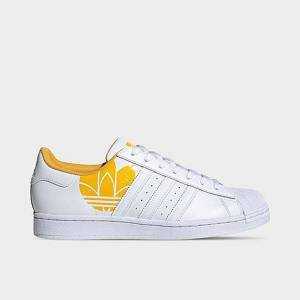 Adidas Men's Originals Superstar Sonic Trefoil Casual Shoes in White Size 13.0 Leather