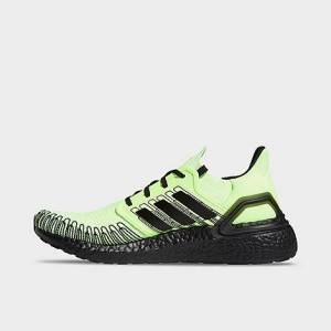 Adidas Men's UltraBOOST 20 Running Shoes in Green Size 11.5 Knit