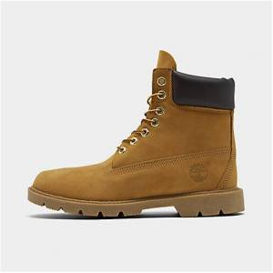 Timberland Men's 6 Inch Basic Waterproof Boots in Brown Size 8.5 Leather