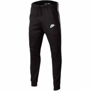 Nike Boys' Taped Jogger Pants in Black Size X-Large Cotton/Polyester
