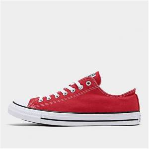 Taylor Converse Men's Chuck Taylor Low Top Casual Shoes in Red Size 6.5 Canvas