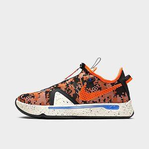 Nike PG 4 Basketball Shoes in Orange/Light Cream Size 9.5