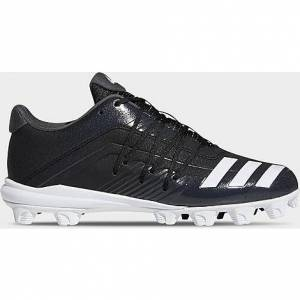 Adidas Men's Afterburner 6 MD Baseball Cleats in Black Size 10.0