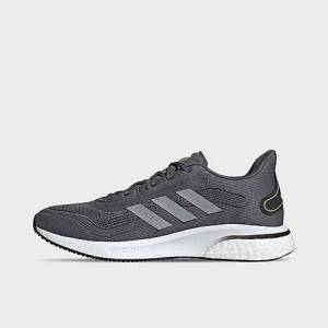 Adidas Men's Supernova Running Shoes in Grey Size 9.5
