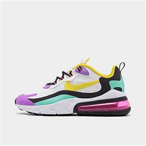 Nike Men's Air Max 270 React Casual Shoes in Pink / Purple Size 12.0