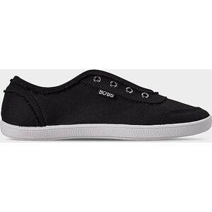 Skechers Women's BOBS-B Cute Gore Slip-On Casual Shoes in Black Size 8.0 Canvas