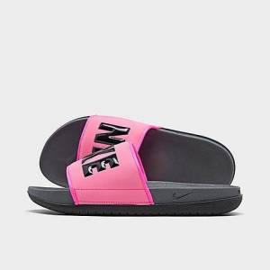 Nike Women's Offcourt Slide Sandals in Pink Size 8.0 Jersey