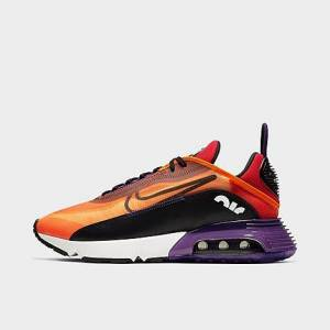 Nike Men's Air Max 2090 Casual Shoes in Orange Size 11.0