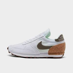 Nike DBreak-Type Plant Pack Casual Shoes in White/White Size 15.0 Canvas