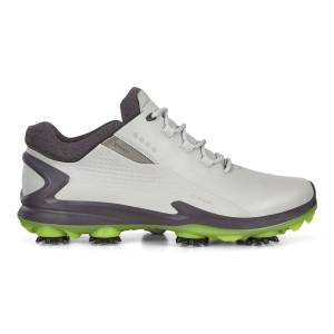 ECCO Mens BIOM G3 Cleated Golf Shoes: 10 - Concrete