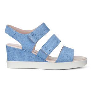 ECCO Shape Wedge Plateau Shoes size  : 10 - Indigo
