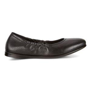 ECCO Incise Enchant Ballerina Shoes size  : 10 - Black