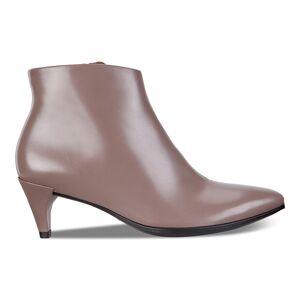 ECCO Shape 5 Kitten Heel Boot Shoes size  : 4 - Deep Taupe
