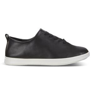 ECCO Leisure Womens Shoe Sneakers size  : 8 - Black