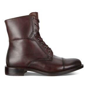 ECCO Sartorelle 25 Combat Boot Shoes size  : 4 - Bison