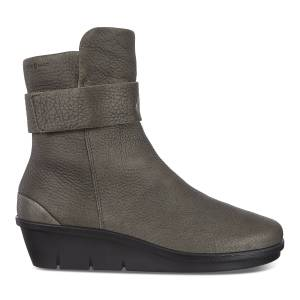 ECCO Skyler Hm Boot Shoes size  : 10 - Warm Grey