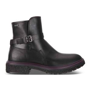 ECCO Womens Crepetray GTX Boot Shoes size  : 12 - Black
