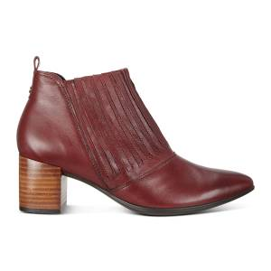 ECCO Shape 45 Block Ankle Boot Shoes size  : 10 - Fired Brick