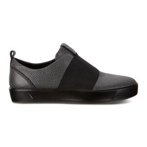 ECCO Soft 8 W Shoe Sneakers Size 7-7.5 Black